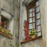 Fenêtre jardin – St-Paul de Vence